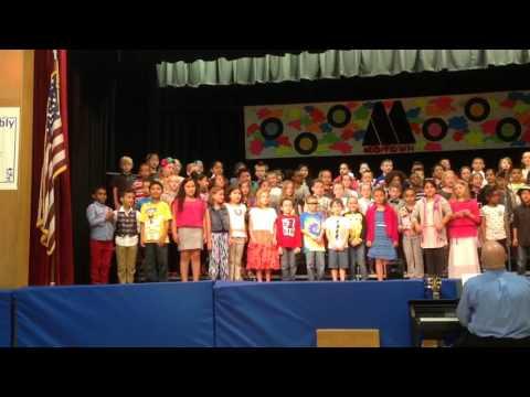 SARAHWORLD - 2015 Israel Putnam school spring concert 1