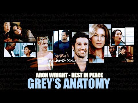 Aron Wright - Rest In Peace (Lyric video) • Grey's Anatomy Soundtrack •