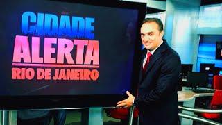 Rogério Forcolen se irrita com criminoso e gravata ao vivo no Cidade Alerta RJ (17/01/2013)