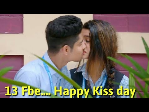 Happy Kiss Day Special WhatsApp Status Video #2019 Only School Life Love Story