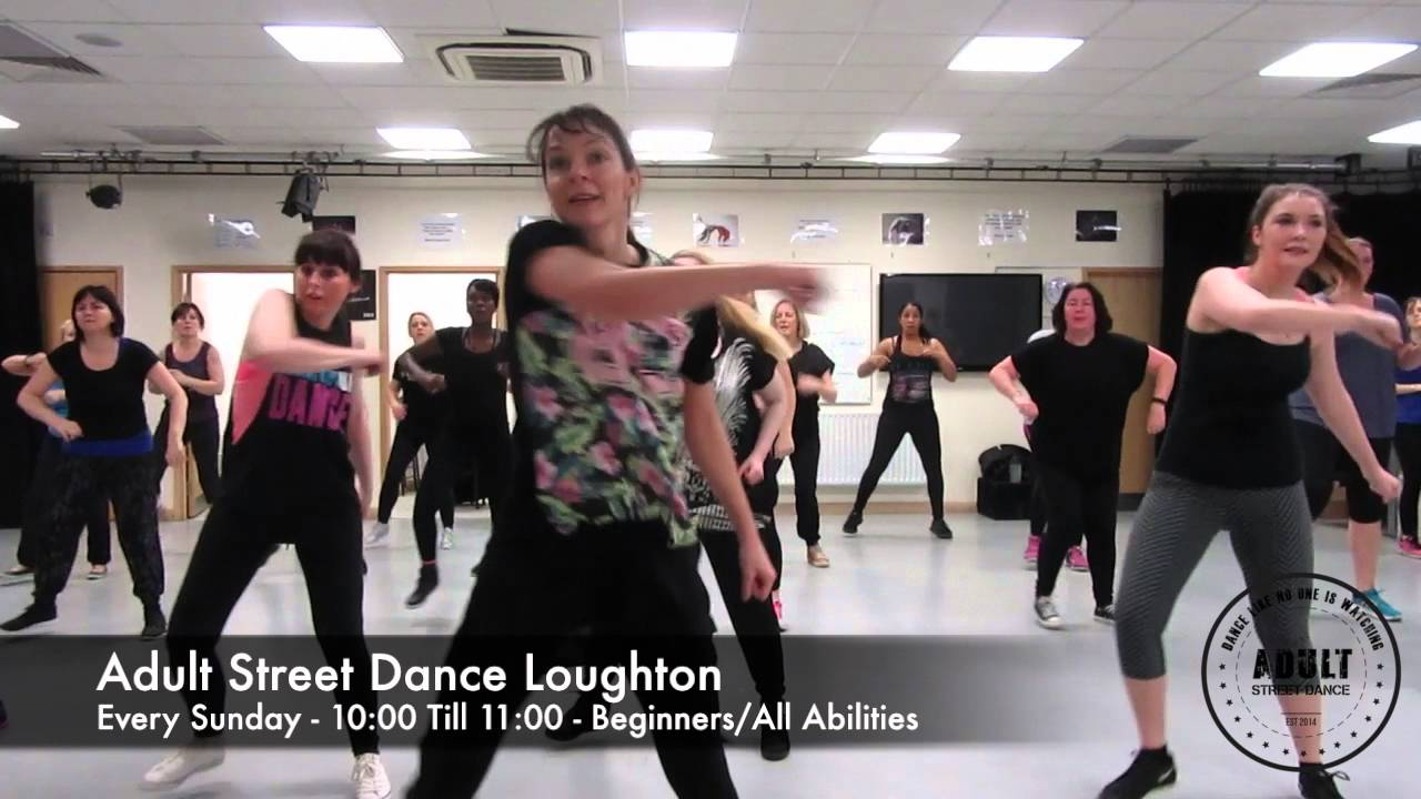 Have adult street dance classes