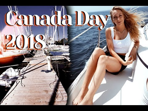 Sailing, Food & Friends   Canada Day In Toronto