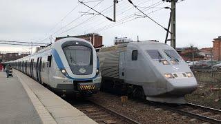 Tåg i Huddinge