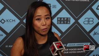 #IAmAsianAmerican Kollaboration Global Executive Director Minji Chang says vote