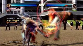 Tekken tag 2 Nina & Alisa combo movie