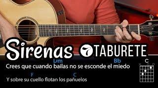 Sirenas - Taburete (ACORDES para guitarra)