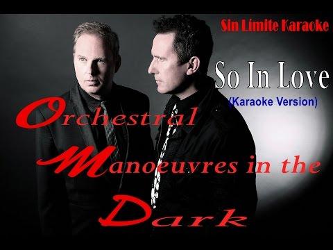 So In Love - OMD (Orchestral Manoeuvres in the Dark) - Karaoke Full