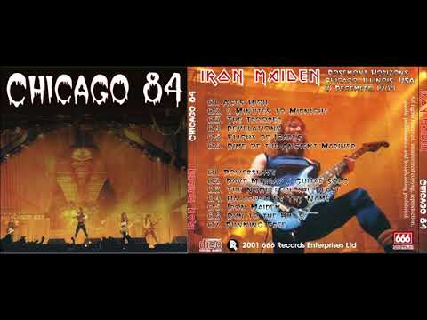Iron Maiden - Live In Rosemont (Chicago) 1984/12/21