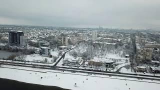 Запорожье, Нижне-Днепровская 21.01.2018  Zaporozhye, Nizhne-Dneprovskaya