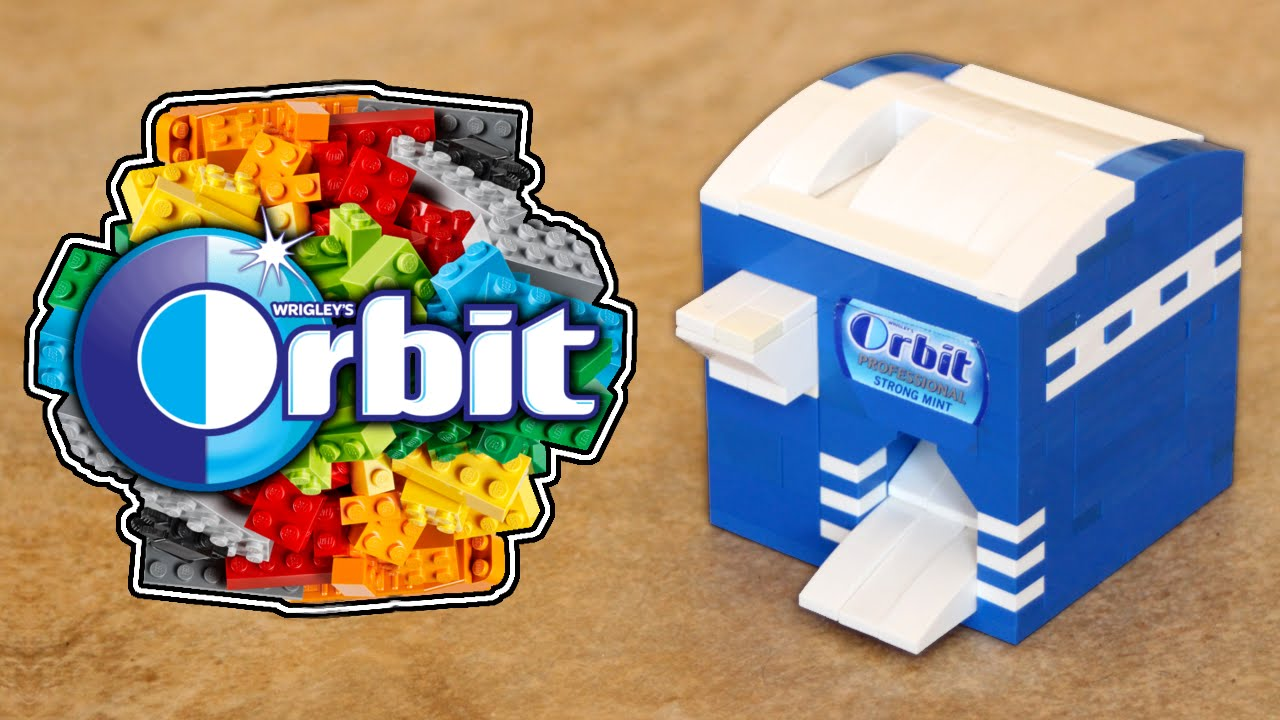 Orbit Gum Custom LEGO Vending Machine