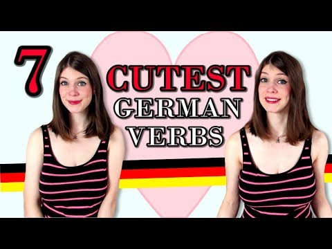 7 CUTE GERMAN VERBS You Need In Your Life