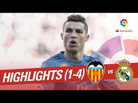 Highlights Valencia CF vs Real Madrid (1-4)