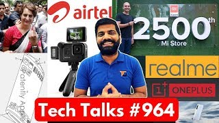 Tech Talks #964 - Priyanka Gandhi Hack, OnePlus Watch, Realme Dual 5G, Galaxy A51, Mi 2500 Store