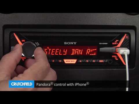 Sony CDX-G3150UP Display and Controls Demo | Crutchfield Video