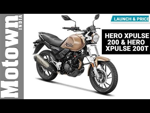 Hero XPulse 200 & XPulse 200T | Launch & Price | Motown India
