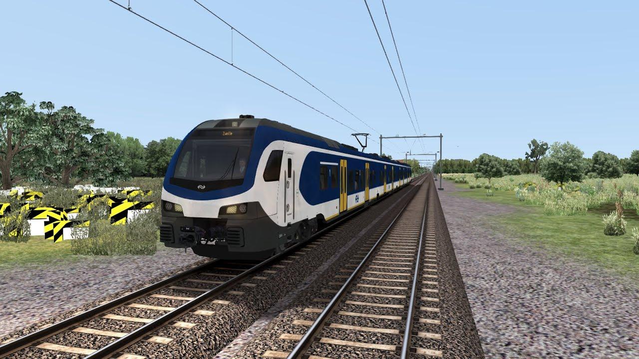 Train Simulator 2019 NS FLIRT Hilversum - Harderwijk - YouTube