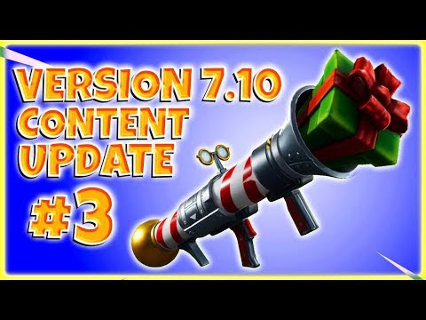 PATCH NOTES - Version 7.10 - Content Update #3 ~ Fortnite Save The World