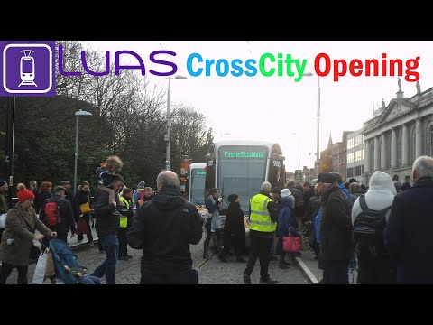 Luas Cross City Opening