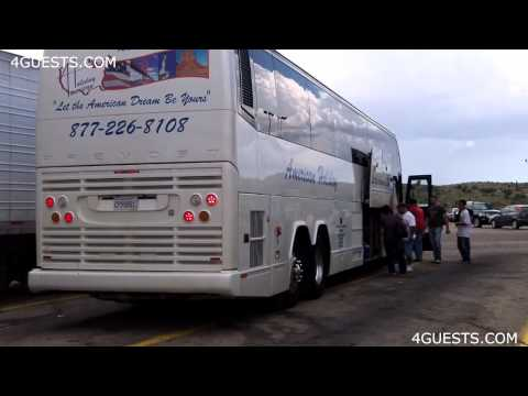 AMERICAN HOLIDAY TOUR BUS