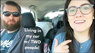 LIVING IN A CAR W/ TWO PEOPLE: DRIVING FROM NASHVILLE TO SAN DIEGO   Katie Carney