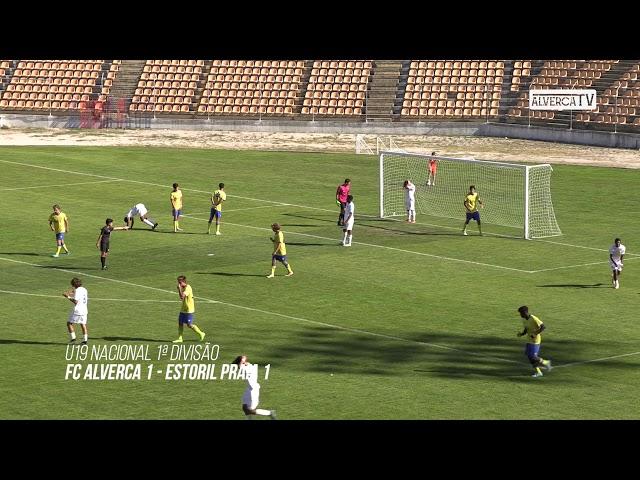 Sub19 FC Alverca 1 Estoril Praia 1 - Highlights