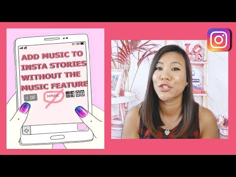 How to add music to instagram stories without the music feature  - Inshot FREE app