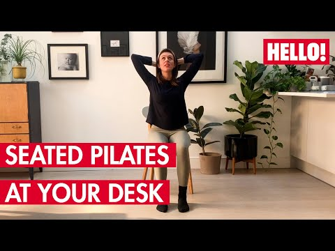 Seated Pilates At Your Desk With Kerrie-Anne Bradley | Hello
