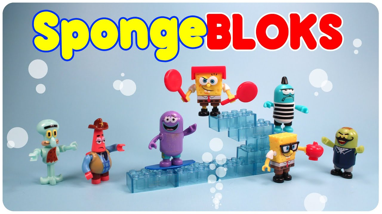 Spongebob Mega Bloks Mystery Packs Series 1 Collection Opening Codes