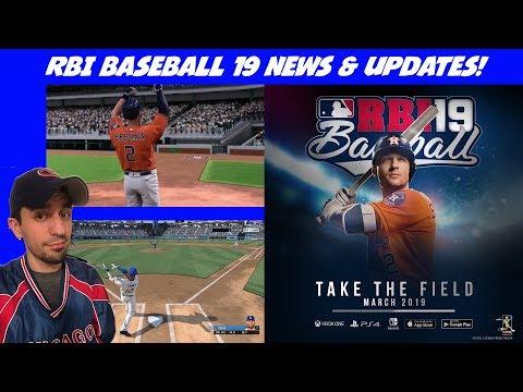 RBI Baseball 19 News & Updates!