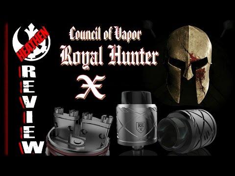 Royal Hunter X 24mm Clamp Post RDA I C O V  I Heathen
