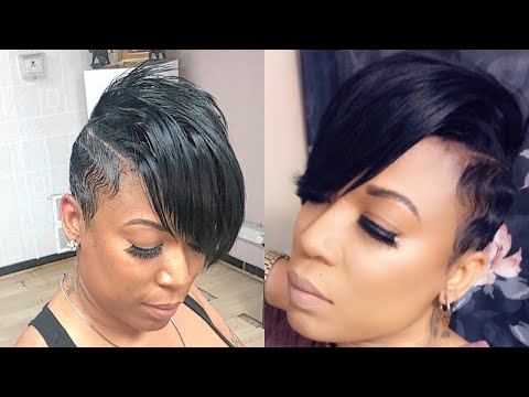 razor-short-pixie-cut-|-partial-quickweave-(tracks-in-between-natural-hair)
