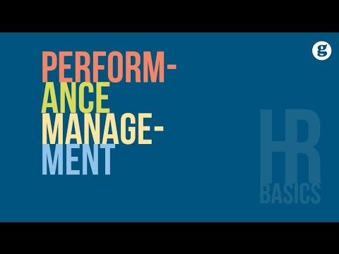 HR Basics: Performance Management