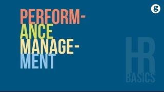 HR Basics: Performance Management