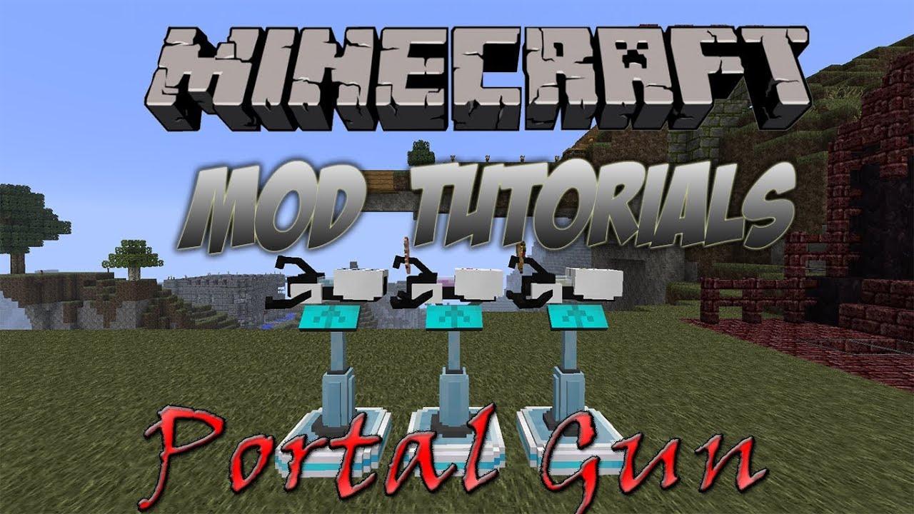 1 4 Minecraft 6 Mod Gun Portal