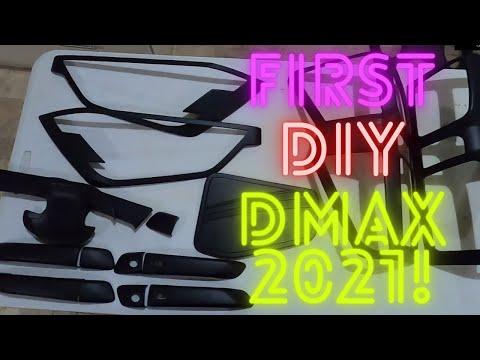 Installing Garnish our first DIY | The All New ISUZU DMAX 2021