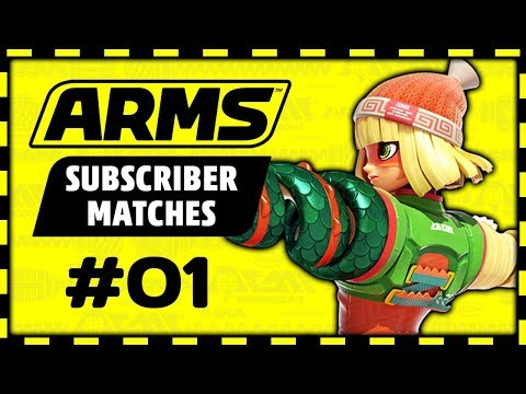 I'm Still Learning! Don't Wreck Me too Hard! - ARMS Subscriber Matches #1