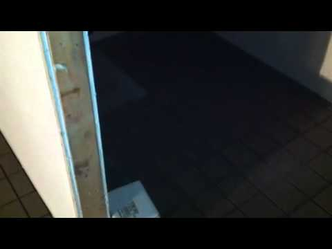 X Floor Tile Commercial Job YouTube - 6x6 black floor tile