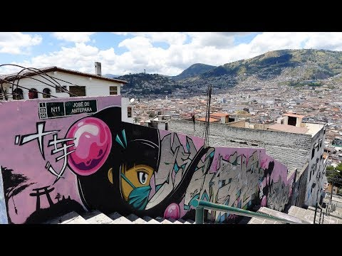 Walking in Quito (Ecuador) revised