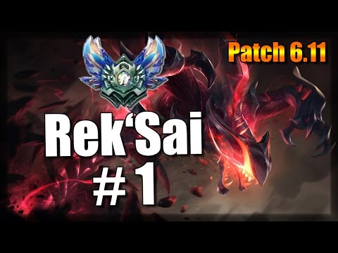 Rek'Sai #1 in Patch 6.11