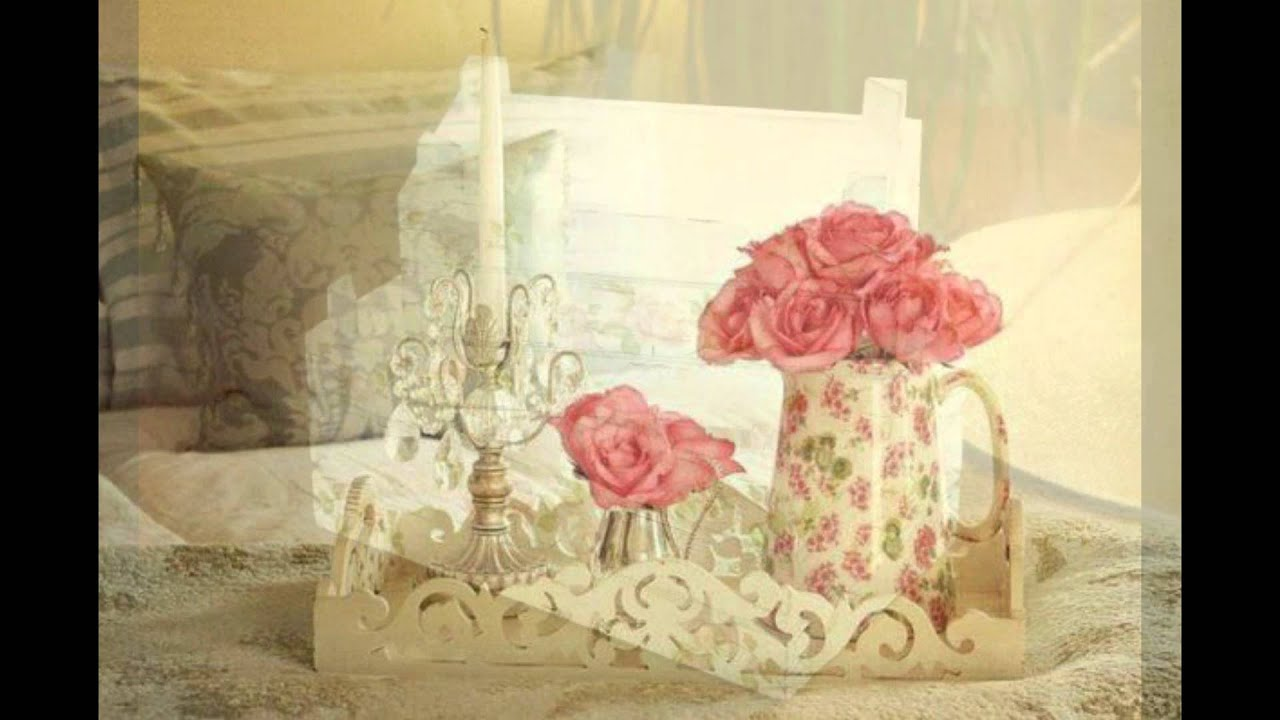 Cheap shabby chic decorating ideas youtube for Cheap chic home decor