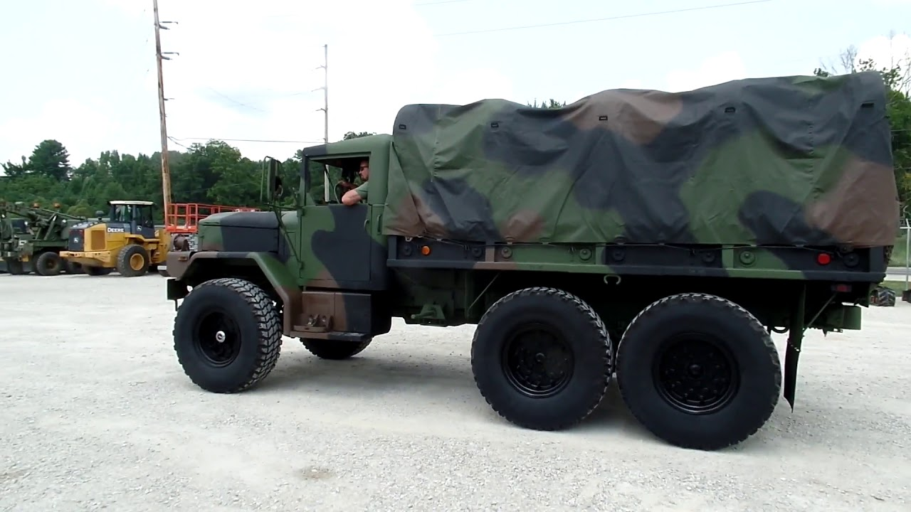 1996 Am General M35a3 For Sale Youtube