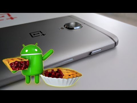 OnePlus 3 and 3T Get Started with Android 9 Pie Up