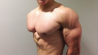 Shoulder Workout with 15-Year-Old Bodybuilder