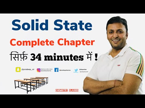 Solid State , Class XII , Happy Examination