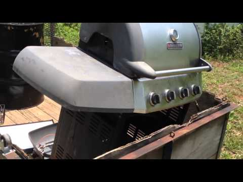 Scrapping a Bar-B-Que grill and getting the most value