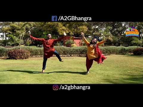 Bhangra Performance | Raat Di Gedi | Diljit Dosanjh | Neeru Bajwa | Awesome Dance | A2G Bhangra
