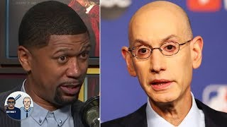 Jalen Rose is out on Adam Silver studying mid-season tourneys, playoff play-in | Jalen & Jacoby