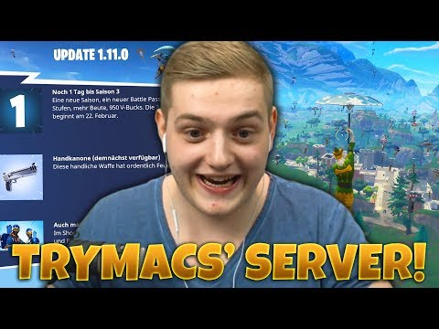 STREAMER VS ZUSCHAUER! | 100 Spieler Tilted Towers ► Totales Chaos! | Fortnite Private Server!
