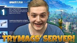 STREAMER VS TÉLÉSPECTATEURS! 100 Joueurs Tilted Towers - Chaos Total! Fortnite Private Server!