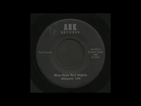Roy Shepard - Blue Days And Nights - Country Bop 45